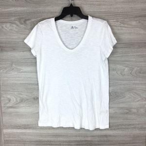 54f3c227a567 Susina Tops   Scoop Neck Slub Tshirt Size Medium   Poshmark